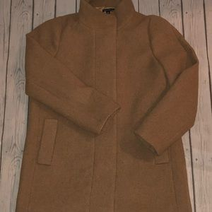 Jcrew Stadium Cloth Coat - 14
